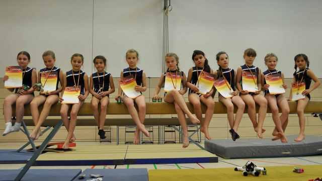 Bayernmeisterschaften im Geräteturnen 2013