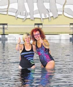 Renate und Claudia Abteilungsleitung Schwimmen