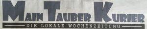 Das neue Logo der regionalen (zwei) Wochenzeitung.